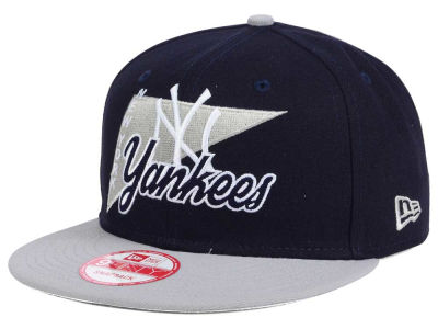 New York Yankees MLB Logo Stacker 9FIFTY Snapback Cap Hats
