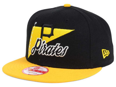 Pittsburgh Pirates MLB Logo Stacker 9FIFTY Snapback Cap Hats