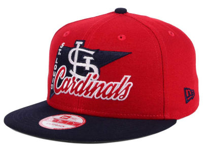 St. Louis Cardinals MLB Logo Stacker 9FIFTY Snapback Cap Hats