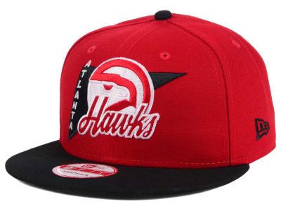 Atlanta Hawks NBA HWC Logo Stacker 9FIFTY Snapback Cap Hats