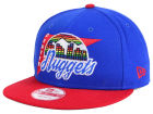 Denver Nuggets New Era NBA HWC Logo Stacker 9FIFTY Snapback Cap Adjustable Hats