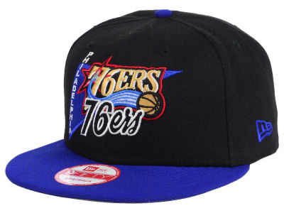 Philadelphia 76ers NBA HWC Logo Stacker 9FIFTY Snapback Cap Hats