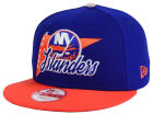 New York Islanders New Era NHL Logo Stacker 9FIFTY Snapback Cap Adjustable Hats