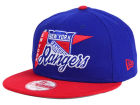 New York Rangers New Era NHL Logo Stacker 9FIFTY Snapback Cap Adjustable Hats