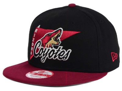 Arizona Coyotes NHL Logo Stacker 9FIFTY Snapback Cap Hats