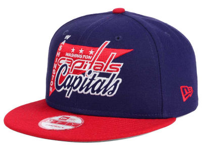 Washington Capitals NHL Logo Stacker 9FIFTY Snapback Cap Hats