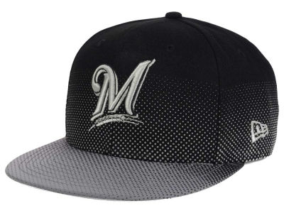 Milwaukee Brewers MLB Flow Flect 9FIFTY Snapback Cap Hats