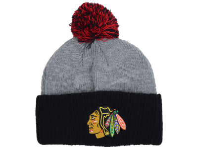 Chicago Blackhawks NHL Flag Stated Cuff Knit Hats