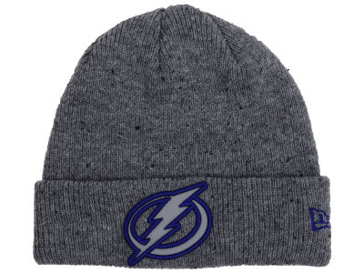 Tampa Bay Lightning NHL Reflective Speckled Cuff Knit Hats