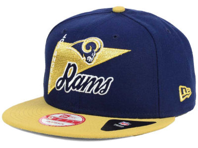 Los Angeles Rams NFL Logo Stacker 9FIFTY Snapback Cap Hats
