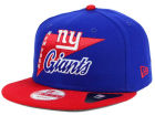 New York Giants NFL Logo Stacker 9FIFTY Snapback Cap Hats