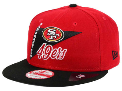 San Francisco 49ers NFL Logo Stacker 9FIFTY Snapback Cap Hats