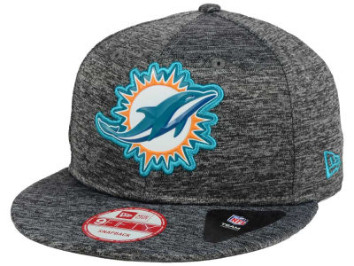 Miami Dolphins NFL Shadow Tech 9FIFTY Snapback Cap Hats