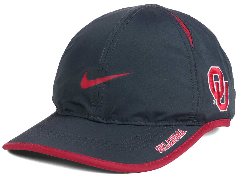 timeless design bc96a f9347 50%OFF Oklahoma Sooners Nike NCAA Featherlight Cap