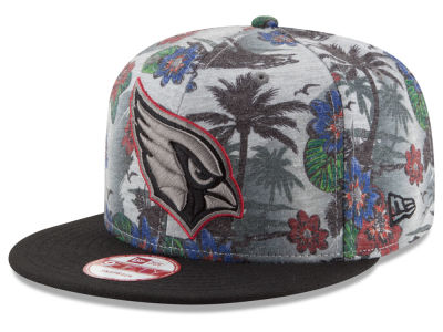 Arizona Cardinals NFL Cool Breeze Trop 9FIFTY Snapback Cap Hats