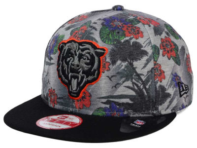 Chicago Bears NFL Cool Breeze Trop 9FIFTY Snapback Cap Hats