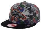 Denver Broncos New Era NFL Cool Breeze Trop 9FIFTY Snapback Cap Adjustable Hats