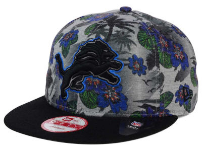 Detroit Lions NFL Cool Breeze Trop 9FIFTY Snapback Cap Hats