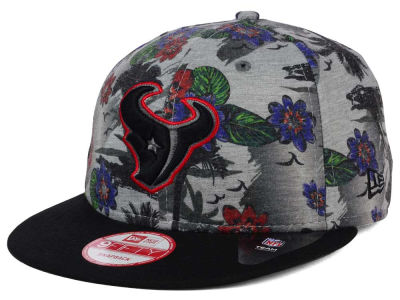 Houston Texans NFL Cool Breeze Trop 9FIFTY Snapback Cap Hats