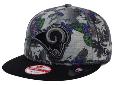 Los Angeles Rams NFL Cool Breeze Trop 9FIFTY Snapback Cap Hats