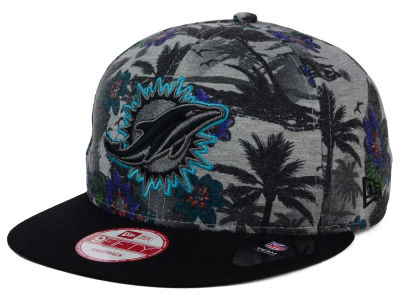 Miami Dolphins NFL Cool Breeze Trop 9FIFTY Snapback Cap Hats