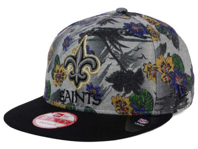New Orleans Saints NFL Cool Breeze Trop 9FIFTY Snapback Cap Hats