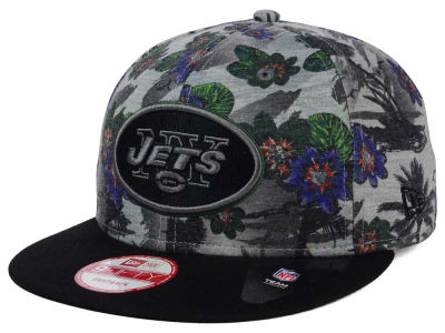 New York Jets NFL Cool Breeze Trop 9FIFTY Snapback Cap Hats