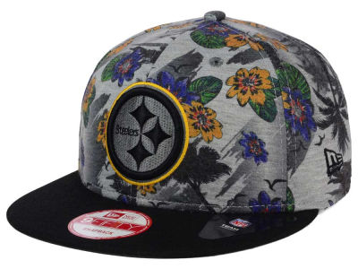 Pittsburgh Steelers NFL Cool Breeze Trop 9FIFTY Snapback Cap Hats
