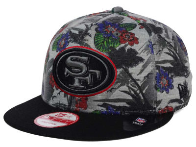 San Francisco 49ers NFL Cool Breeze Trop 9FIFTY Snapback Cap Hats