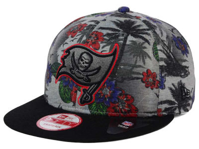 Tampa Bay Buccaneers NFL Cool Breeze Trop 9FIFTY Snapback Cap Hats