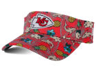 Kansas City Chiefs New Era NFL Mahalo Visor Adjustable Hats