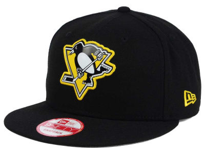 Pittsburgh Penguins NHL Bevel 9FIFTY Snapback Cap Hats