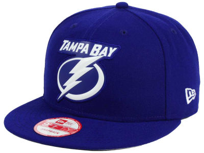 Tampa Bay Lightning NHL Bevel 9FIFTY Snapback Cap Hats