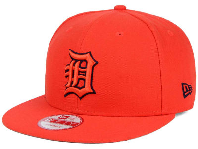 Detroit Tigers MLB 2 Tone Link BP 9FIFTY Snapback Cap Hats