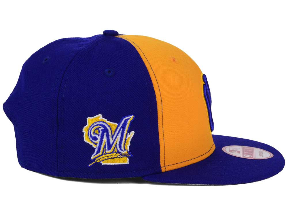 huge discount 044fe a95f4 ... order milwaukee brewers new era mlb 2tone link bp 9fifty snapback cap  hot sale 1e1c7 e0ad9