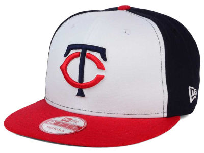 Minnesota Twins MLB 2 Tone Link BP 9FIFTY Snapback Cap Hats