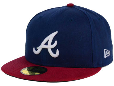 Atlanta Braves Eric Emanuel x New Era 59FIFTY Collection Hats