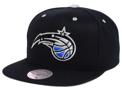 low priced f0b8a 0b283 Orlando Magic Mitchell   Ness NBA Solid Velour Logo Snapback Cap   lids.com