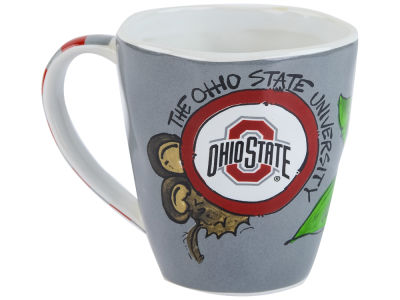 Buckeye Leave Art Mug