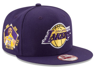 Los Angeles Lakers Kobe Bryant Retirement 9FIFTY Snapback Collection Hats