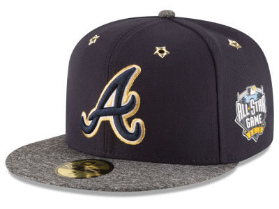 Atlanta Braves 2016 MLB All Star Game Patch 59FIFTY Cap Hats