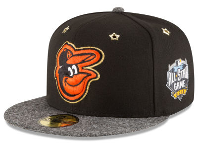 Baltimore Orioles 2016 MLB All Star Game Patch 59FIFTY Cap Hats