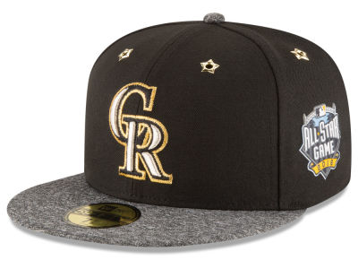 Colorado Rockies 2016 MLB All Star Game Patch 59FIFTY Cap Hats