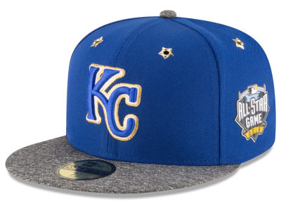 Kansas City Royals 2016 MLB All Star Game Patch 59FIFTY Cap Hats