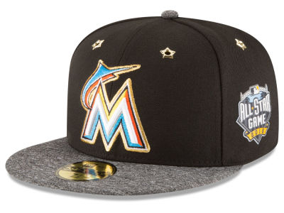 Miami Marlins 2016 MLB All Star Game Patch 59FIFTY Cap Hats