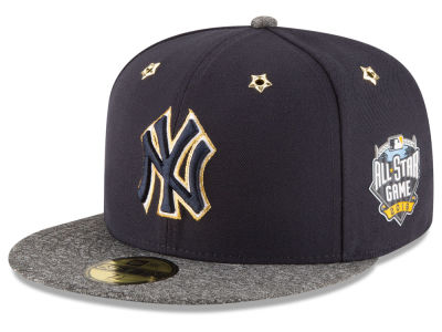 New York Yankees 2016 MLB All Star Game Patch 59FIFTY Cap Hats