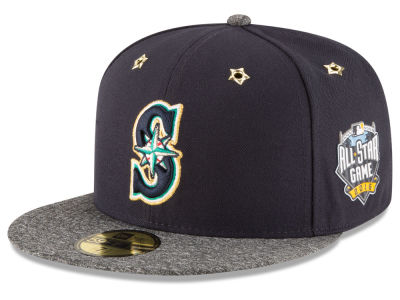 Seattle Mariners 2016 MLB All Star Game Patch 59FIFTY Cap Hats