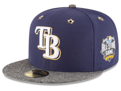 Tampa Bay Rays 2016 MLB All Star Game Patch 59FIFTY Cap Hats