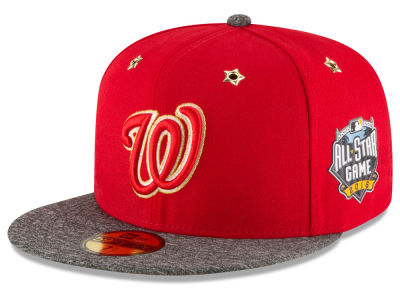 Washington Nationals 2016 MLB All Star Game Patch 59FIFTY Cap Hats