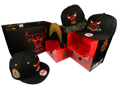 Chicago Bulls NBA HWC Bulls Anniversary 9FIFTY Snapback Pack Hats